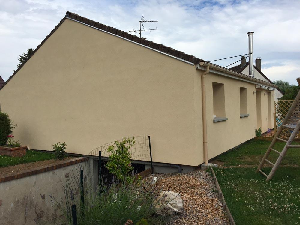 Fourniture et pose d'un système d'isolation thermique par l'extérieur près de Rouen (76)